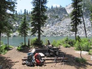 A+ campsite.
