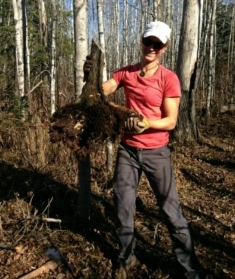 Direct application - trail building.