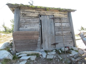 The original cabin.